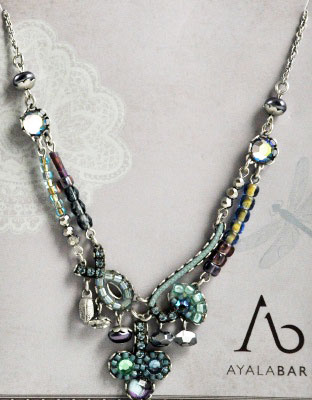 Yesteryear Blue Necklace