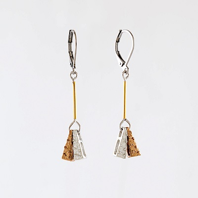 Chanis Bronze Earring