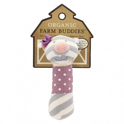 Penny the Pig Squeaky Toy - Farm Buddies