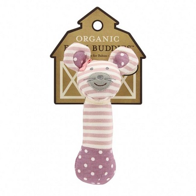 Ballerina Mouse Squeaky Toy - Farm Buddies
