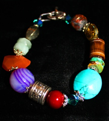 Aztec Chunky Bracelet