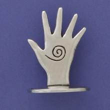Pewter Hand - Ring Holder