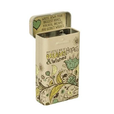 Natural Leaf - Tin Prayer Box
