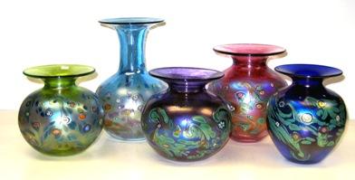 Monet Series - Glass Vases