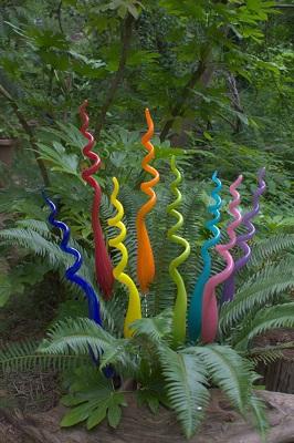 Glass Garden Charms