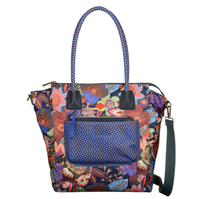 Oilily Shopper - Blueberry