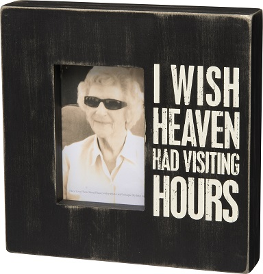 Box Frame - Visiting Hours