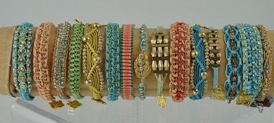 Surf Woven Bracelets by Rose Gonzales