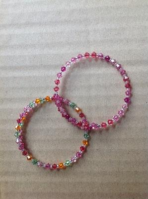 Child Coil Beaded Bracelet