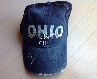 Ohio Girl Navy Mesh Hat