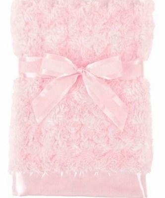 Swirly Snuggle Blanket - Pink