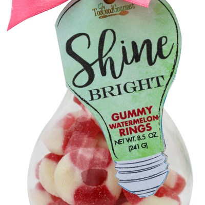 Watermelon Rings - Light Bulb Container