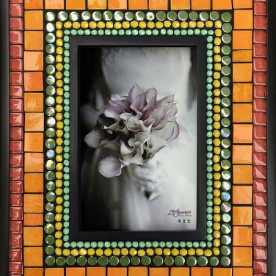 Joy Mosaic Picture Frame