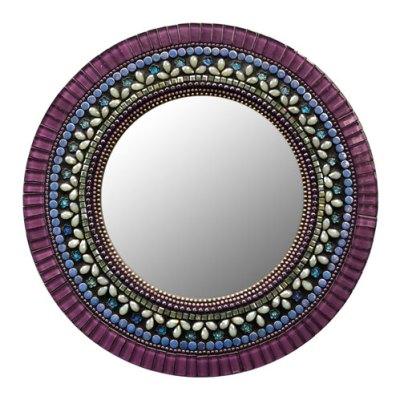 Wisteria Mosaic Mirror