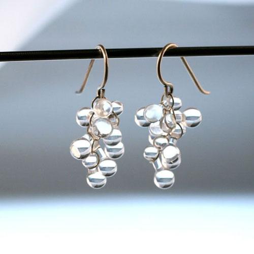 Ocean Earrings - Clear