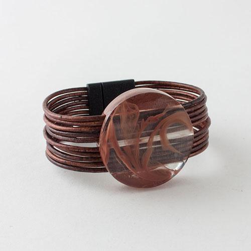Kunzi Argile Rose-Rose Clay Bracelet