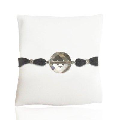 Dark Grey Chunk Bracelet