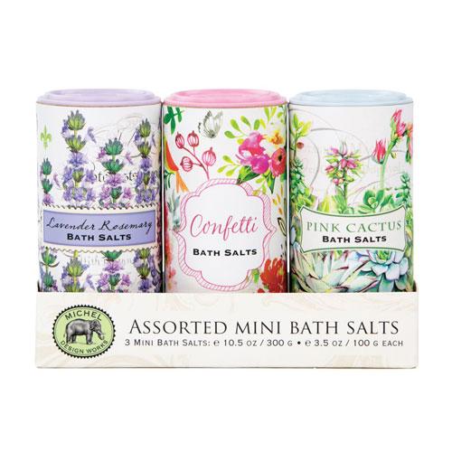 Mini Bath Salts Set of 3