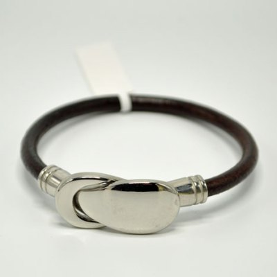 Women's Reflections Brown Leather Bracelet