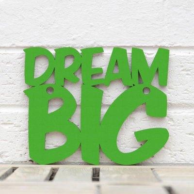 Dream Big Wall Plaque - Small