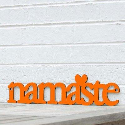 Namaste Wall Plaque