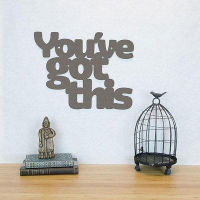 You've Got This Wall Plaque - Small