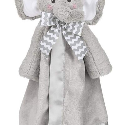 Lil' Spout Gray Elephant Snuggler