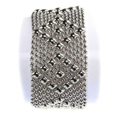 Liquid Metal Chrome Bracelet