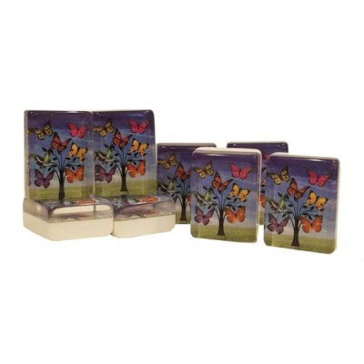 Limited Edition American Butterfly Mah Jongg Tiles