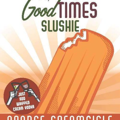 Orange Creamsicle Slushie