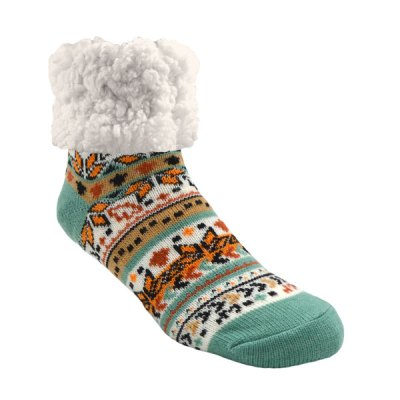Pudus Classics Slipper Socks - Autumn White