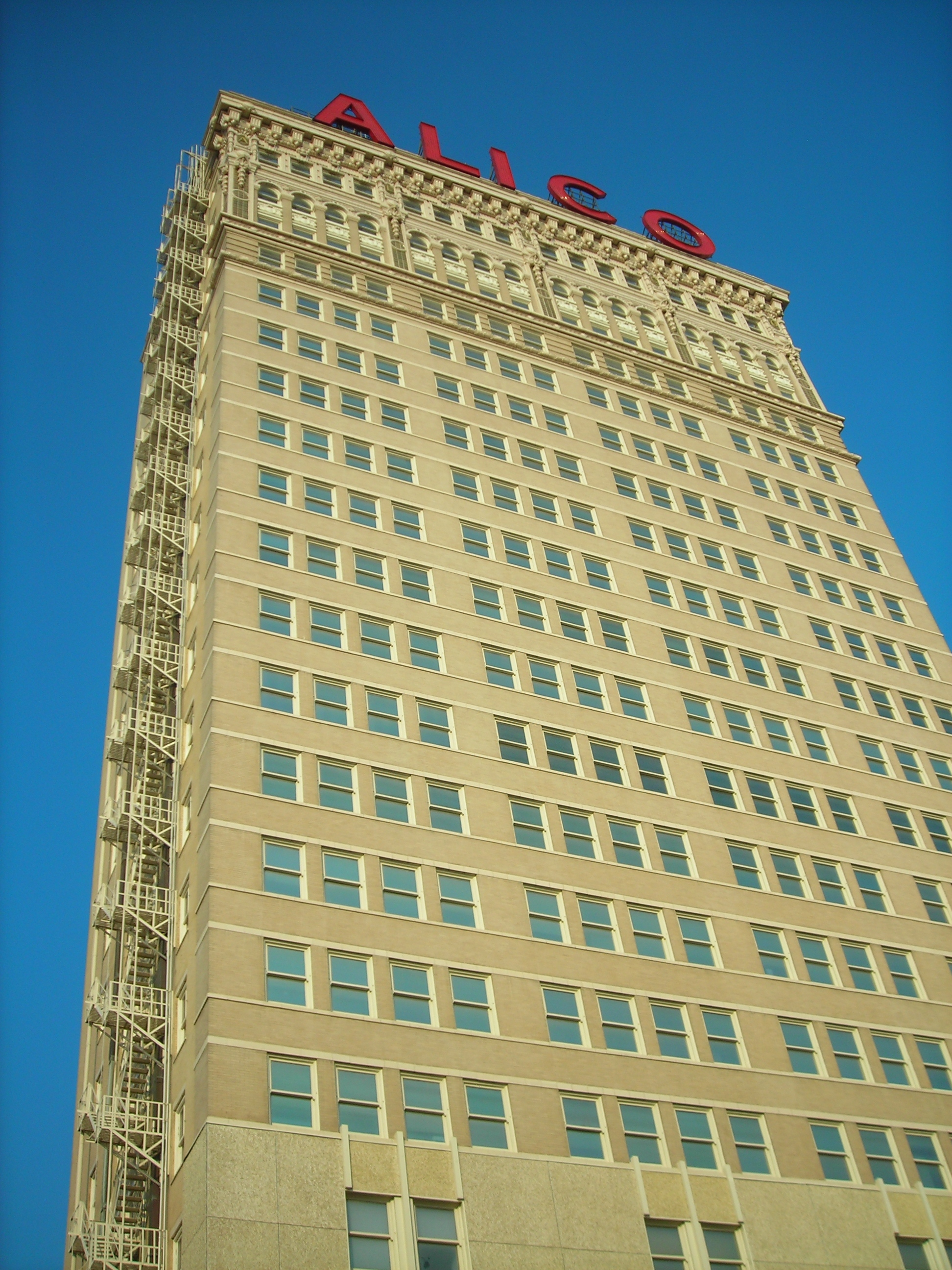 the landmark alico building, downtown waco ... that thing is TALL!