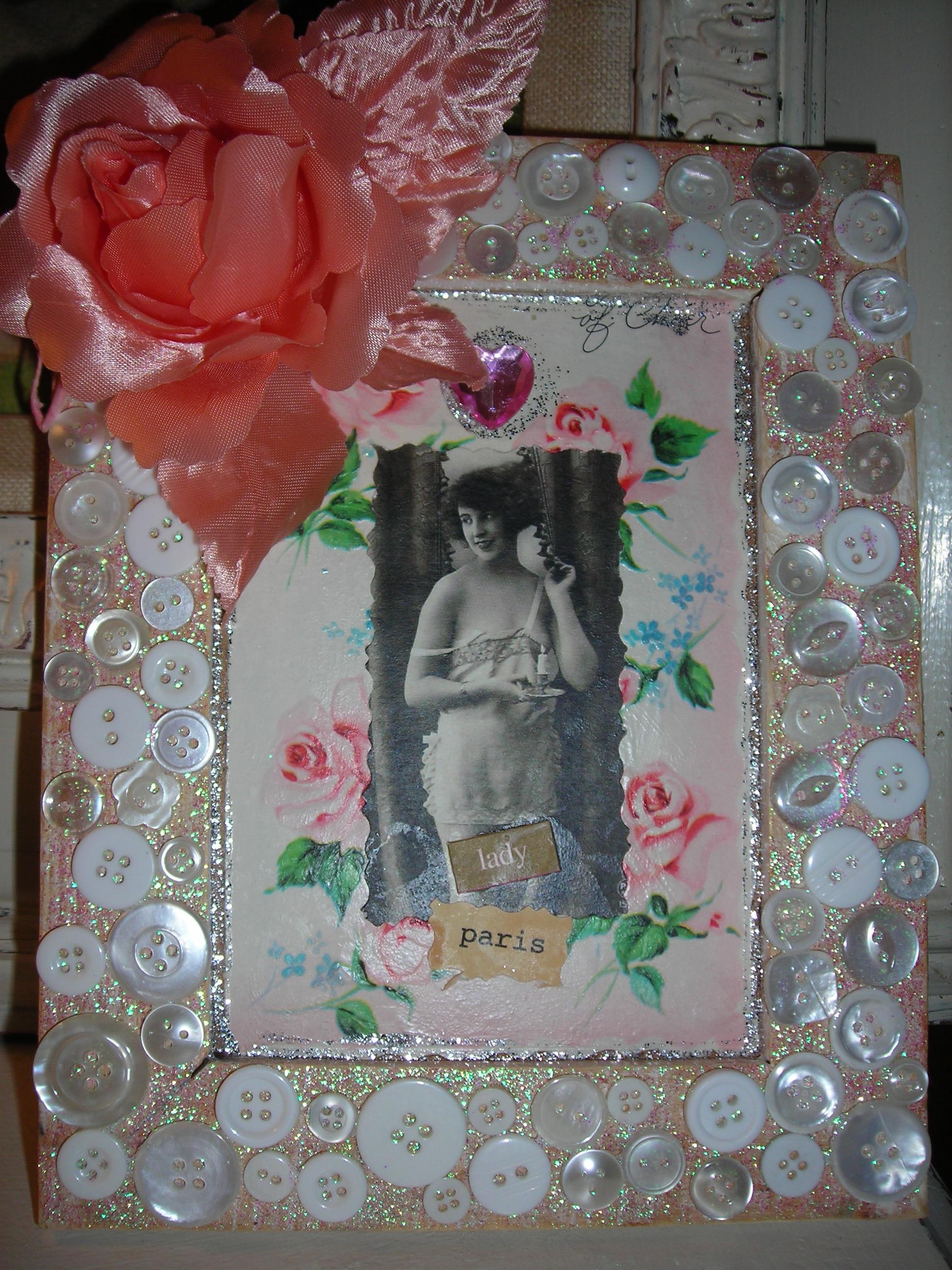 Adorable little Paris Lady picture, Sue's creation