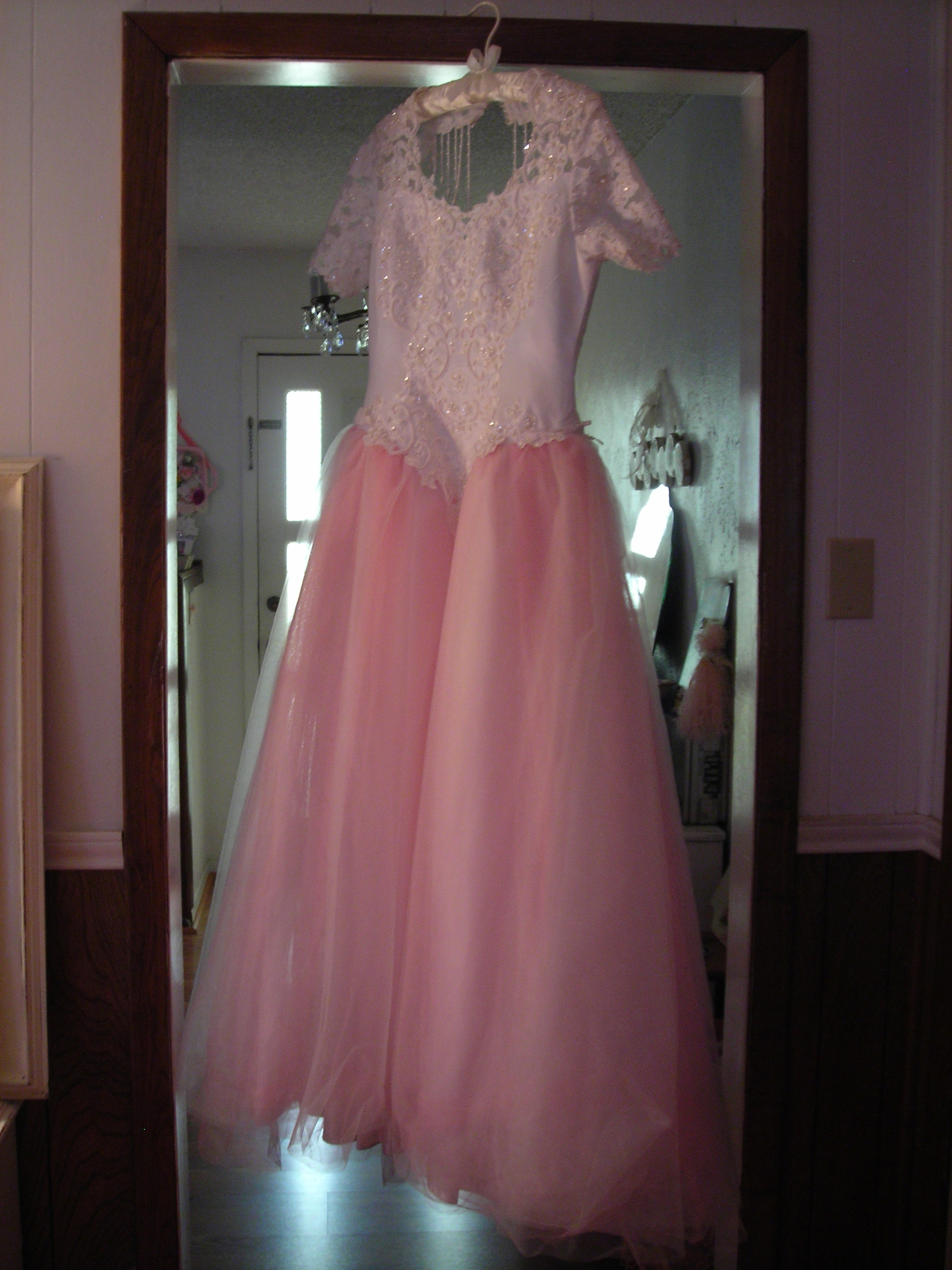ohmygawd. i fell in love with this fru fru dress the minute i saw it at harker heights GW barn! the BARN?!?!?!