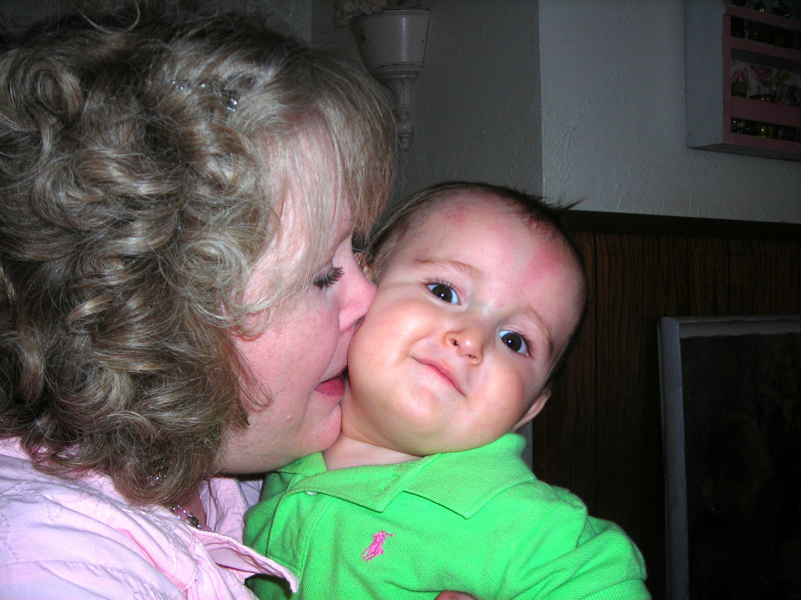 grandmommy steals some sweet sugar