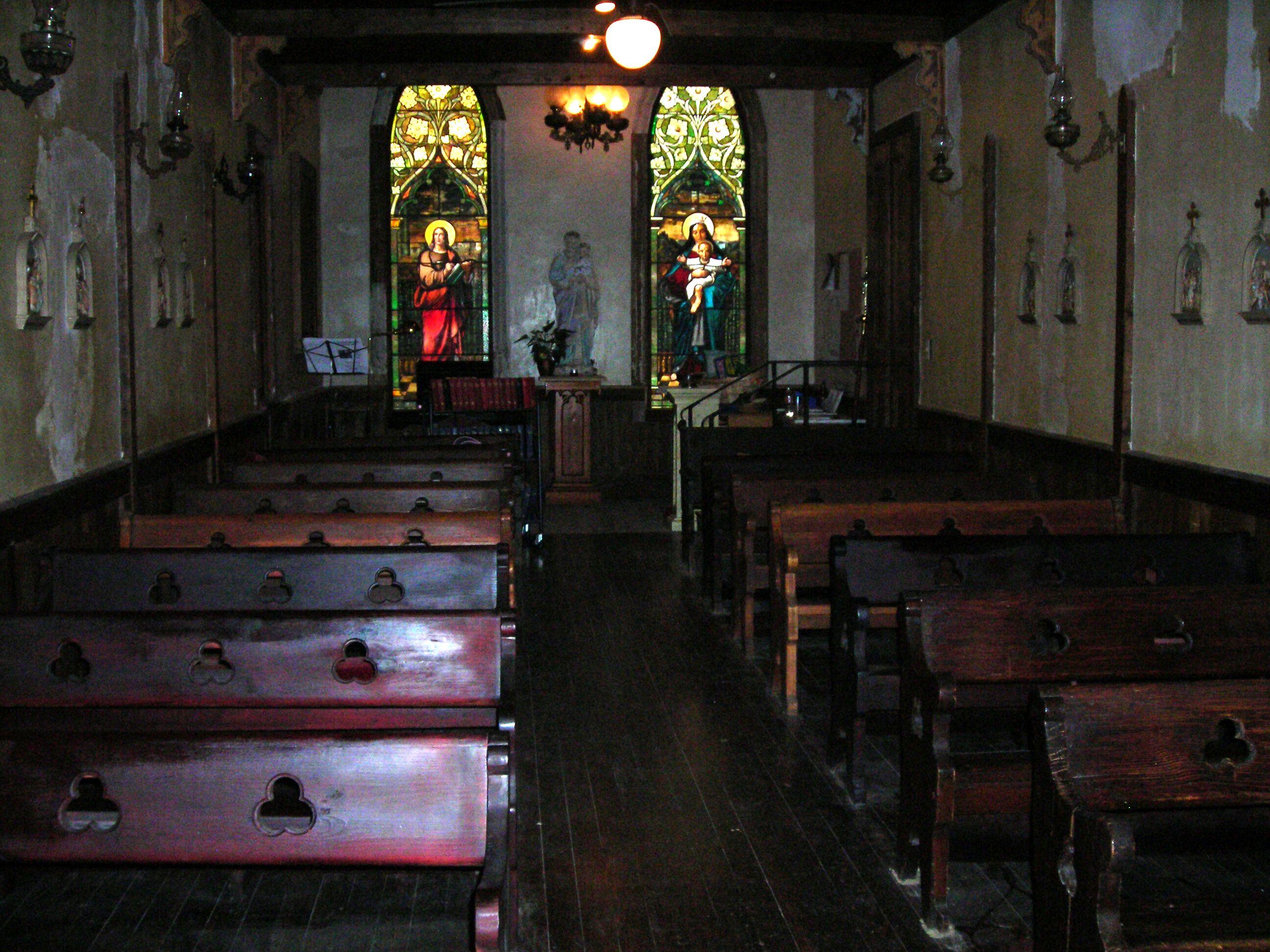 inside of sweet chapel