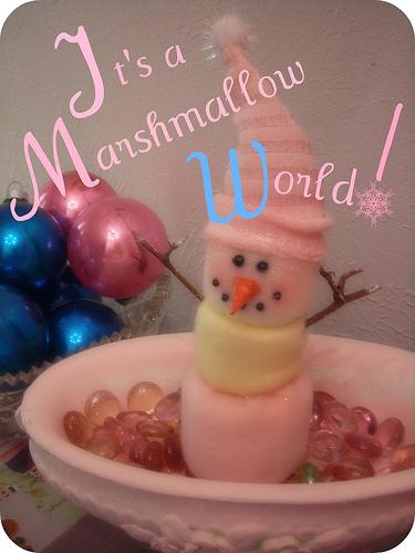pink-snowman