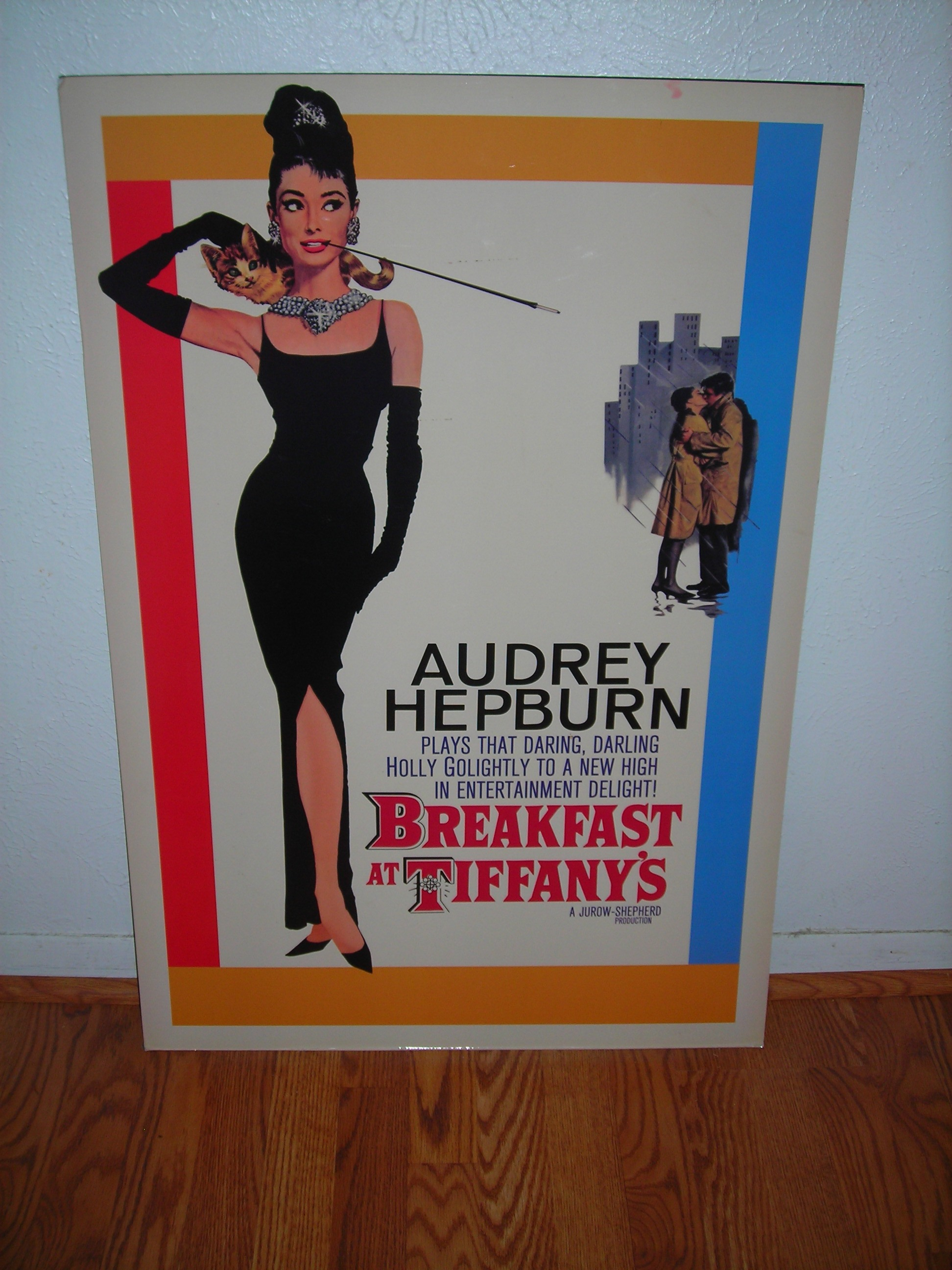 movie poster from the harker heights city-wide sale ... does it get any better than audrey hepburn?!