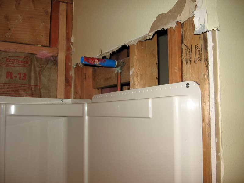 Sterling Accord Bathtub Installation With Pictures Terry Love Plumbing Amp Remodel DIY