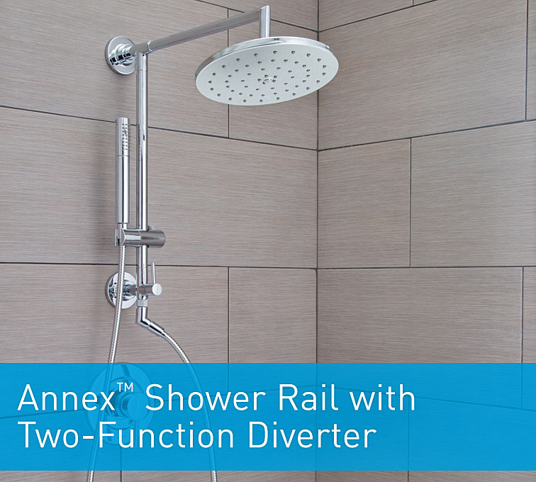 How To Install The Moen Annex Shower Rail Terry Love