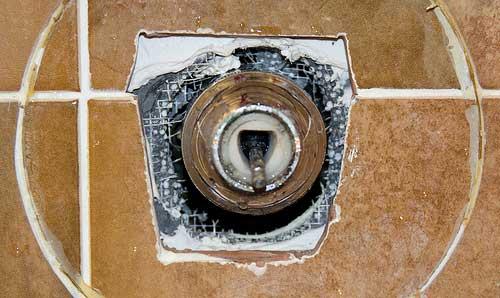 older valley tub shower faucet