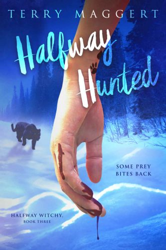 witchy fantasy series halfway hunted