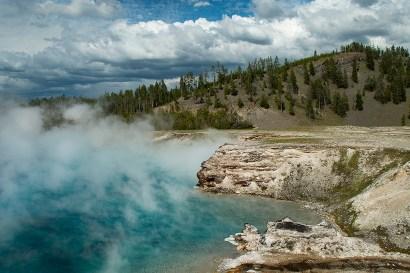 Excelsior Geyser, Midway Geyser Basin, Yellowstone National Park