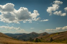Southwest view from Kinport Peak, Idaho