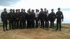 Koh Samui clean-up team.