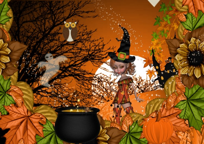 halloween digital scrapbooking