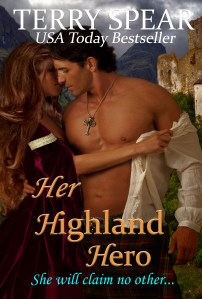 her highland hero cover with title cursive copy