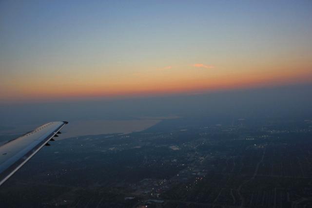 Sunrise over Texas