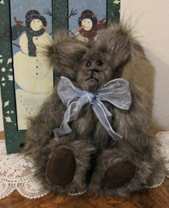 Gray Bear--New Fuzzy Bear that has an old world charm