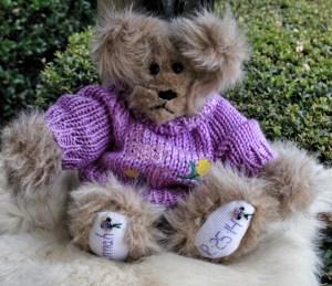 Purple Sweater Bear